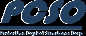 PCSO logo with white border